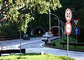 Tunneleinfahrt auf der Brennerautobahn A22 Italien Suedtirol.JPG