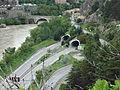 Tunnels et ponts de la Baume, Sisteron.JPG