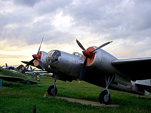 Tupolev SB - Tupolev SB in Monino Air Force Museum
