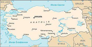 Miasta W Turcji Wikipedia Wolna Encyklopedia