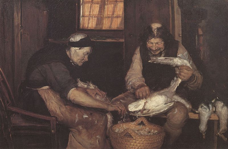 File:Two Old People Plucking Gulls (Anna Ancher).jpg