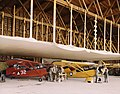 Two Stinson 105 aircraft in Civil Air Patrol Coastal Patrol 20 hangar.jpg