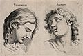 Two faces expressing veneration and rapture. Etching, c. 176 Wellcome V0009320.jpg