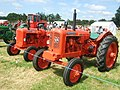 Two orange tractors - geograph.org.uk - 918128.jpg