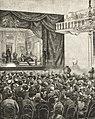 Tymczasowy Teatr Rozmaitości w salach redutowych w Warszawie, rys. Czesław Jankowski.jpg