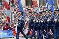 U.S. Air Force Honor Guard marches on (18211770496).jpg