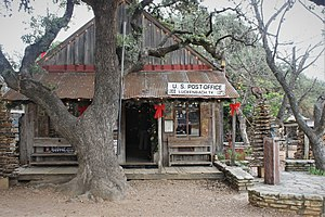 Luckenbach, Texas - U.S. Post Office in Luckenbach, 1850-1971