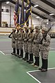 U.S. Soldiers with the 3rd Battalion, 172nd Infantry Regiment, Vermont Army National Guard color guard stand ready for a Valorous Unit Award ceremony at Norwich University in Northfield, Vt., Jan. 12, 2014 140112-Z-WM282-699.jpg