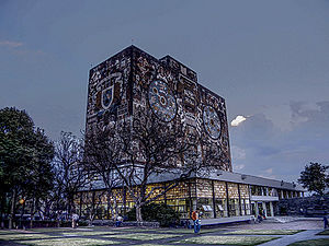 Luis Cernuda - The Central Library - University of Mexico.