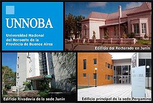 National University of Northwestern Buenos Aires - Image: UNNOBA Logo y Edificios 240 05