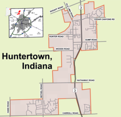 Huntertown, Indiana - Wikipedia, the free encyclopediahuntertown town