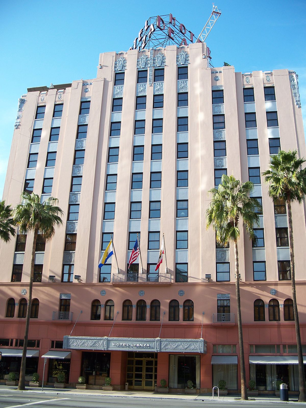 Hotel de anza wikipedia for Oldest hotels in america