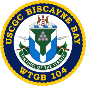 USCGC Biscayne Bay (WTGB-104) - USCGC Biscayne Bay (WTGB-104) Coat of Arms