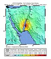 USGS Shakemap - 1995 Gulf of Aqaba earthquake.jpg