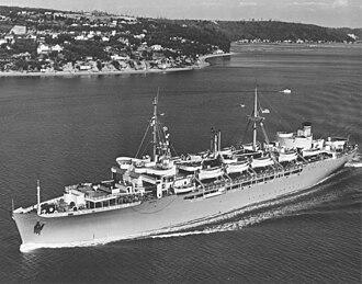 Mason Patrick - Image: USNS General M.M. Patrick (T AP 150)