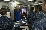 USS Bonhomme Richard Lesbian, Gay, Bisexual and Transgender (LGBT) Pride Month celebration 170628-N-RU971-012.jpg