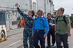 USS Bonhomme Richards welcomes Malaysian officials 150227-N-UF697-122.jpg
