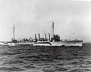USS <i>Champlin</i> (DD-104)