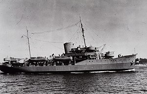 USC&GS Pathfinder was commissioned as a U.S. Navy vessel during World War II.