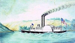 USS Queen of the West (1854) - CSS Queen of the West