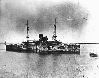 USS Texas (1892) - Texas in Cuban waters, May–July 1898