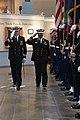 US Navy 040309-N-2383B-031 Cmdr. Marshall W. Martin, left, escorts Rear Adm. Suhail M.S. Al Marar, Commander United Arab Emirates Naval Forces, at the Washington Navy Yard's Navy Museum.jpg