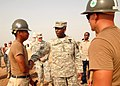 US Navy 080923-N-3560G-025 Construction Electrician Constructionman Apprentice Nara Eim greets General William Ward.jpg