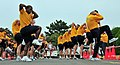 US Navy 081031-N-0807W-068 Sailors at Fleet Activities Sasebo stretch and warm-up before participating in three and five kilometer fun runs.jpg