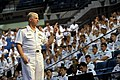 US Navy 100520-N-8273J-036 Chief of Naval Operations (CNO) Adm. Gary Roughead addresses U.S. Naval Academy Midshipmen from the Navy option graduating class.jpg
