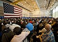 US Navy 111029-N-NY820-057 Approximately 2,500 people attend the commissioning ceremony for the Virginia-class attack submarine USS California (SSN.jpg