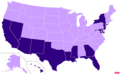 US states by nonwhite population.png
