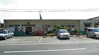 Ueki Station railway station in Kumamoto, Kumamoto prefecture, Japan