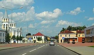 Ukmergė City in Aukštaitija, Lithuania