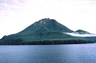 Uliaga Island - Uliaga Island from the west
