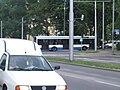 Ulica Morska, Gdynia, autobus linii pospiesznej W, kierunek Pustki Cisowskie - 002.JPG