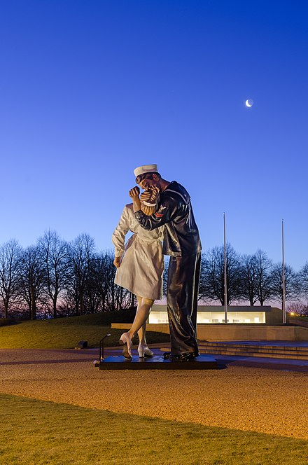 Unconditional Surrender by John Seward Johnson II (Caen, France)