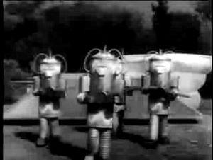 "Undersea Kingdom - Unga Khan's Volkites emerging from ""The Juggernaut"""