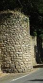 Une tour en fer à cheval du château médiéval de la Chaize-le-Vicomte..jpg