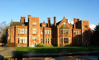 Heslington Hall - Image: University of york heslington hall