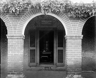 The Range - Edgar Allan Poe room on the West Range, 1915.