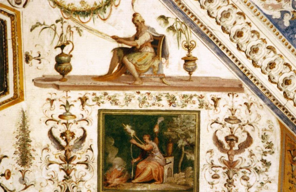Decorative grotesques, Stanza dei Lanifici