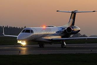 Embraer Legacy 600 - EMB-135BJ Legacy at dusk