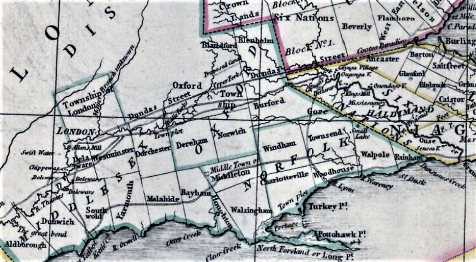 Upper Canada 1800