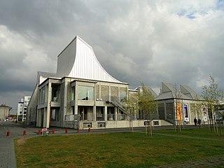 Utzon Center museum in Aalborg
