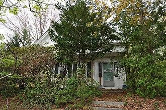 Francis Deane Cottage - Image: Uxbridge MA Francis Deane Cottage 2