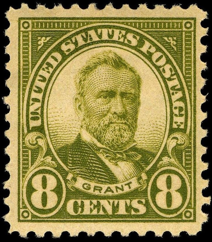 Uylsses S Grant 1923 Issue-8c