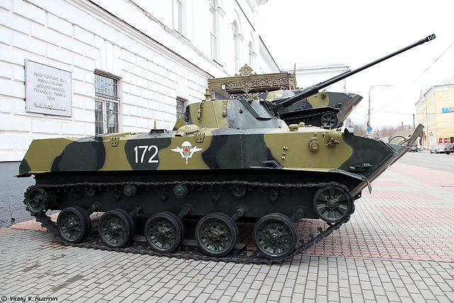BMD-2 a the VDV museum