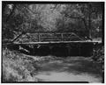 VIEW TO EAST - Deer Creek Bridge, Spanning Deer Creek at Township Road 406, Geff, Wayne County, IL HAER ILL, 96-GEFF. V, 1-2.tif