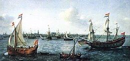 VROOM Hendrick Cornelisz The Harbour in Amsterdam.jpg