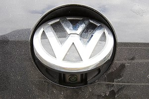 Backup camera - Backup camera on Volkswagen Golf Mk7